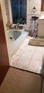 Una transformación del baño principal de alto nivel y un vestidor