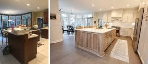 Cocina: 100.000 - 150.000 euros. Creación de una cocina familiar actualizada de concepto abierto