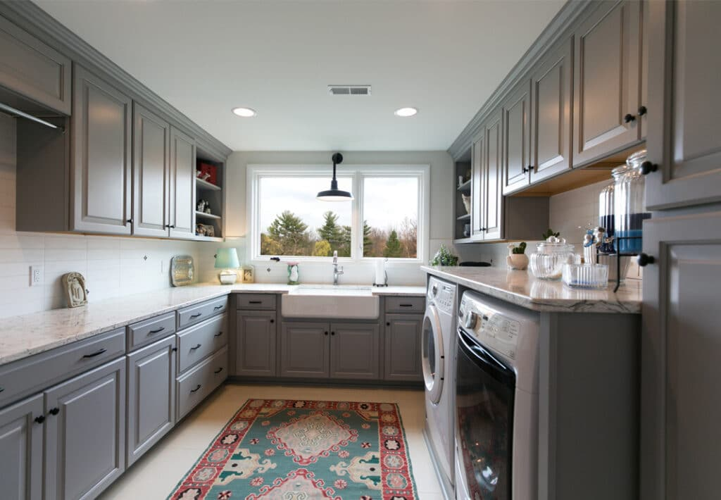 Dover Home Remodelers can help you create your ideal laundry