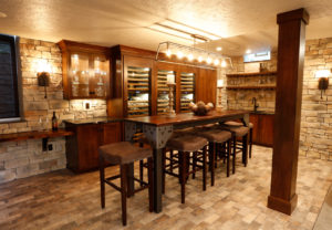 Update your lower level Ideas for basement flooring walls and
