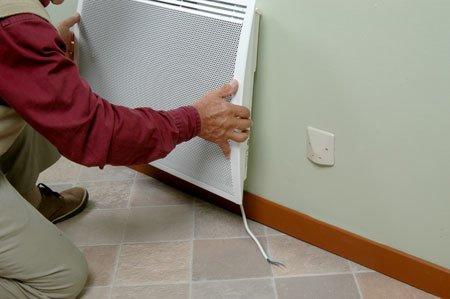Posicionamiento previo del radiador