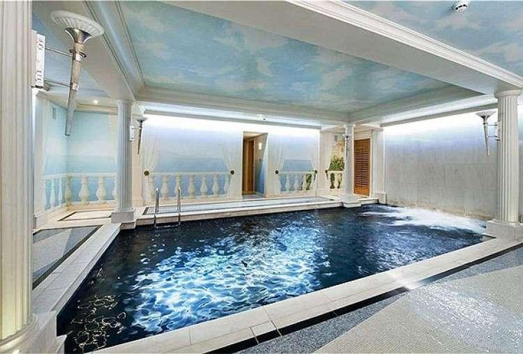 Construccion de piscina interior en chalet de Alcobendas 1