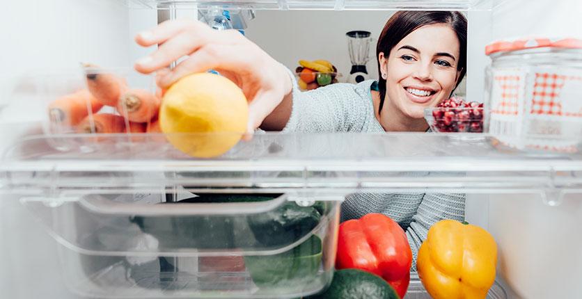 Vaciar el frigorífico