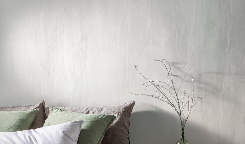 Dormitorio pared pintada en gris Boadilla del Monte 1