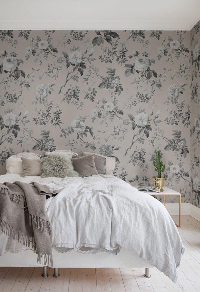 Papel pintado dormitorio matrimonio Alcobendas.  Consejos para pintar su hogar.
