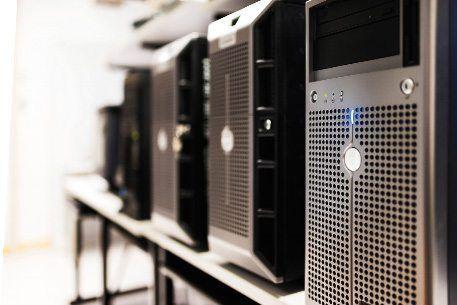 Aire acondicionado de la sala de servidores