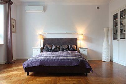 Aire acondicionado en dormitorios