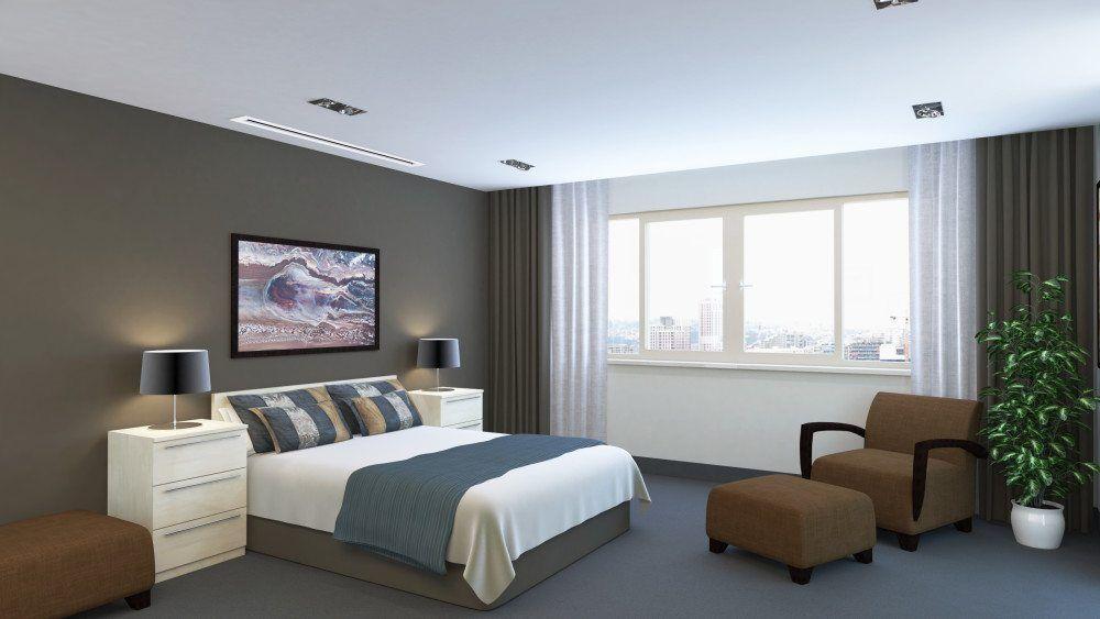 Instalaciones de aire acondicionado en dormitorios